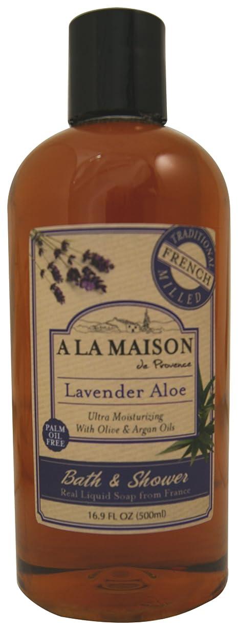 違反するおばさん切り下げ海外直送品A La Maison Shower Gel Lavender Aloe, Lavender Aloe 16.9 oz