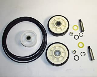 MAYT-1 Dryer Maintenance Kit, Contains Dryer Rollers,Shafts, Belt, Idler Pulley, ( 303373, 33002535, 12001541, 6-3700340 )Replacement for Maytag, Whirlpool,Magic Chef Dryers.