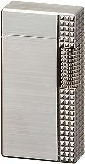 Sarome Flint Lighter SD1-44 Silver hairline / lattice diamond cut