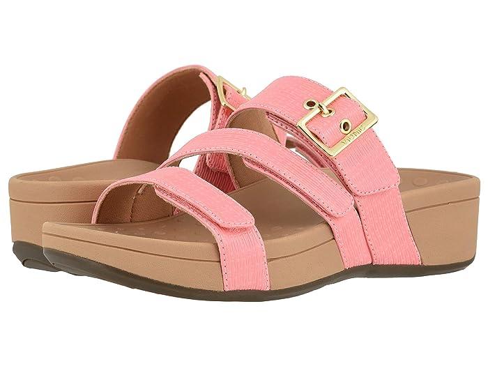 VIONIC  Rio Woven (Coral) Womens  Shoes