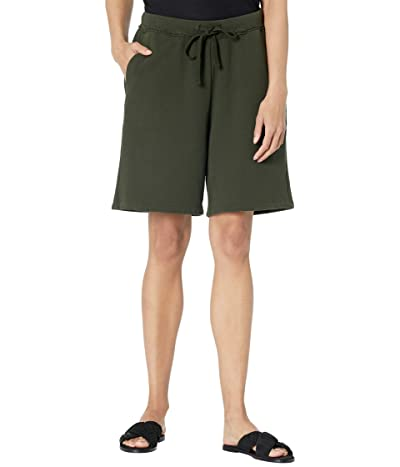 Eileen Fisher Midthigh Shorts in Organic Cotton French Terry