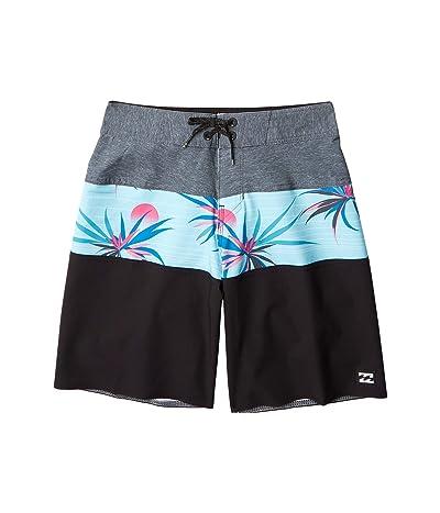 Billabong Kids Tribong Pro Swim Shorts (Big Kids) (Stealth) Boy