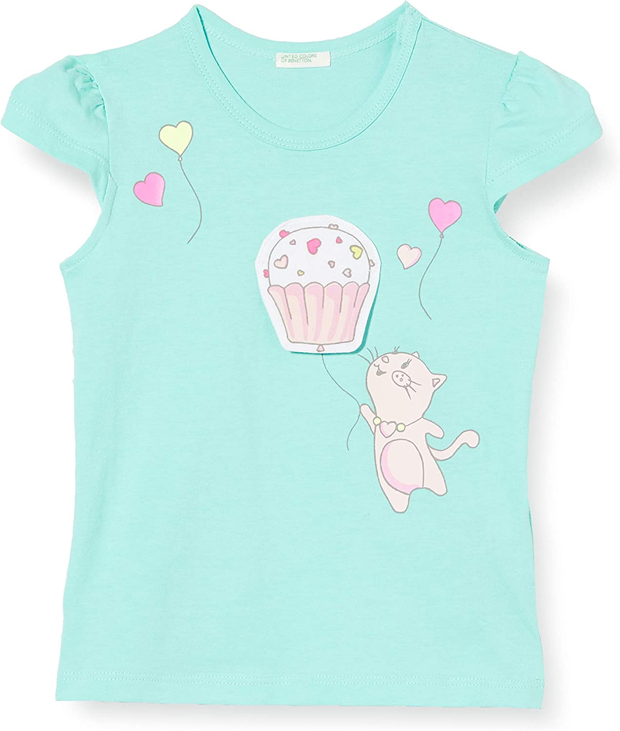 United Colors of Benetton Baby Girls T-Shirt Kniited Tank Top