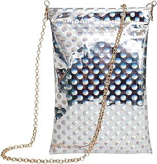 98ec4023ab6e Amazon.co.uk: Silver - Top-Handle Bags / Women's Handbags: Shoes & Bags