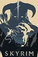 Best Print Store - The Elder Scrolls, Skyrim, Simple Art Poster (24x36 inches)