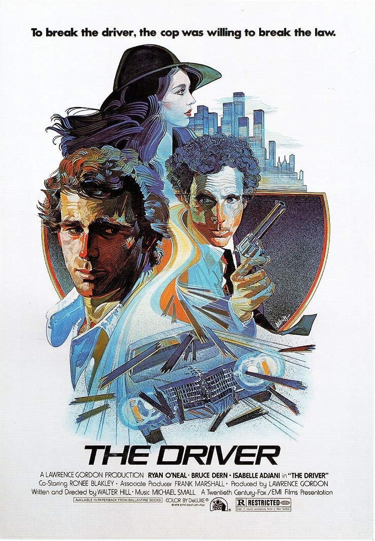 Black Creations The Driver  1978 Movie Poster Canvas Picture Art Print Premium Quality A0 A1 A2 A3 A4 (A0 Canvas (30 40))