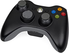 Microsoft Xbox 360 Wireless Controller Black (Renewed) (Controller Only)