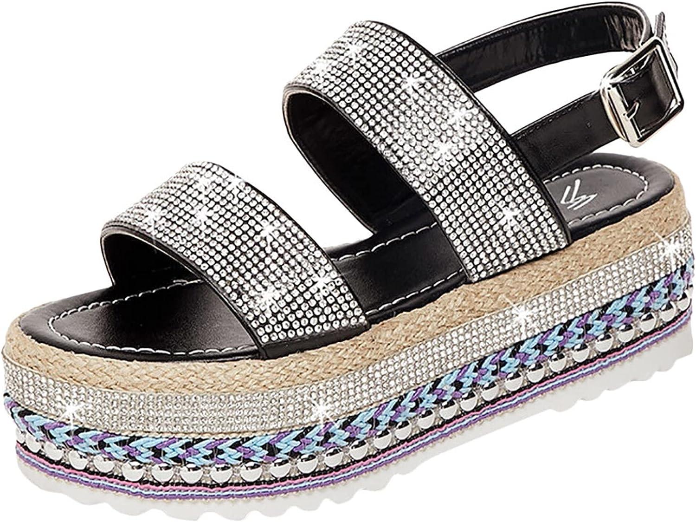 Women Female Roman Sandals Shoes Flat Summer Toe Fl Open Great interest Cheap mail order sales