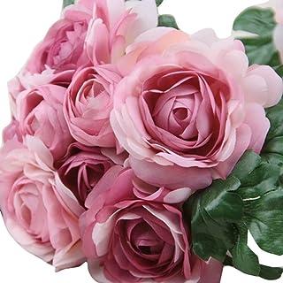 D Rose Flower Head 6cm Xshuai Un Bouquet De 8 Têtes Rose