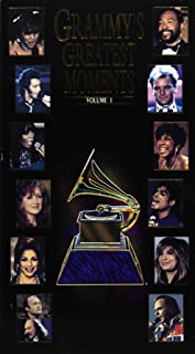 Grammy's Greatest Moments, Vol. 1 VHS 1994