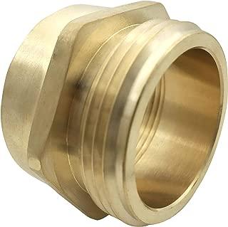 brass fire hose adapters