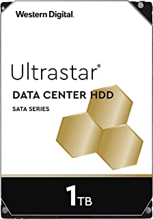 Western Digital 1TB Ultrastar DC HA200 SATA HDD - 7200 RPM Class, SATA 6 Gb/s, 128MB Cache, 3.5