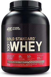Optimum Nutrition Gold Standard 100% Whey Protein Powder, Chocolate Coconut - 2.27 Kilograms