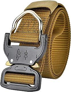 Military Tactical Belt - Quick-Release Buckle Belt Adjustable Nylon Breathable Waist Belt Zhhlaixing