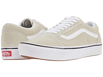 Vans Comfycush Old Skool ((Suede) Oatmeal) Athletic Shoes