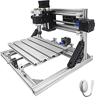 VEVOR CNC Router Machine CNC 2418 GRBL Control with ER11 for Plastic Acrylic PCB PVC Wood Carving Milling Engraving Machin...
