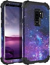BENTOBEN Galaxy S9 Plus Case, Samsung Galaxy S9+ Case, 3 in 1 Heavy Duty Rugged Hybrid Hard PC Soft Silicone Bumper Shockproof Non-Slip Protective Phone Cover for Samsung Galaxy S9 Plus (2018), Space