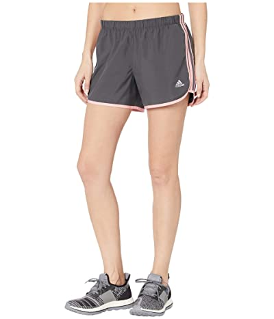 adidas M20 4 Shorts (Grey Six/Glory Pink) Women