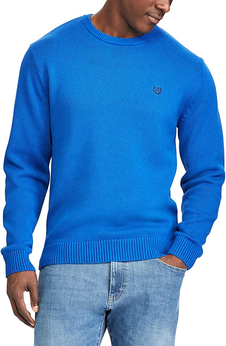 Chaps Men's Classic Crew Neck Sweater Dallas Mall Outlet SALE Pullover