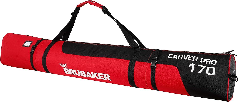 National uniform free shipping BRUBAKER CarverPro XP - Ski Bag for Classic Straps with Padded Shoulder