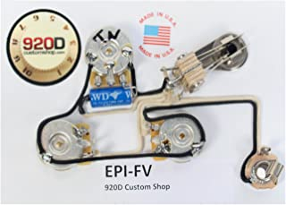 920D Wiring Harness for Gibson/Epiphone Flying V (for models with a pickguard)