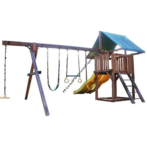 Wooden Swing Set Plans Amazon Com