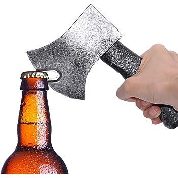 Magnetic Axe Bottle Opener AMJUDOT Wine Bottle Opener Refrigerator Magnetic Bottle Opener Axe Beer Opener of Retro Axe