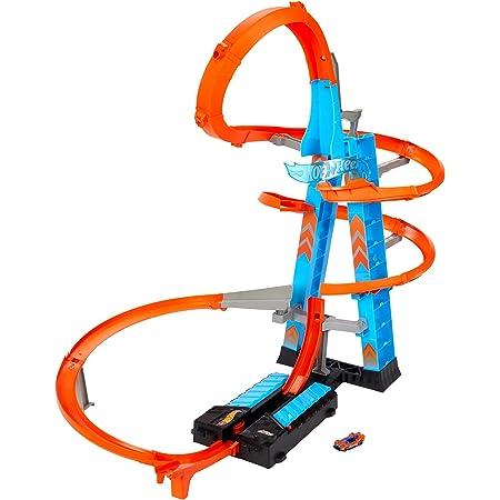 Hot Wheels Pista y Garaje para Coches de Juguetes, Regalo para Niños y Niñas mayores de 5 Años (Mattel GJM76), Embalaje estándar