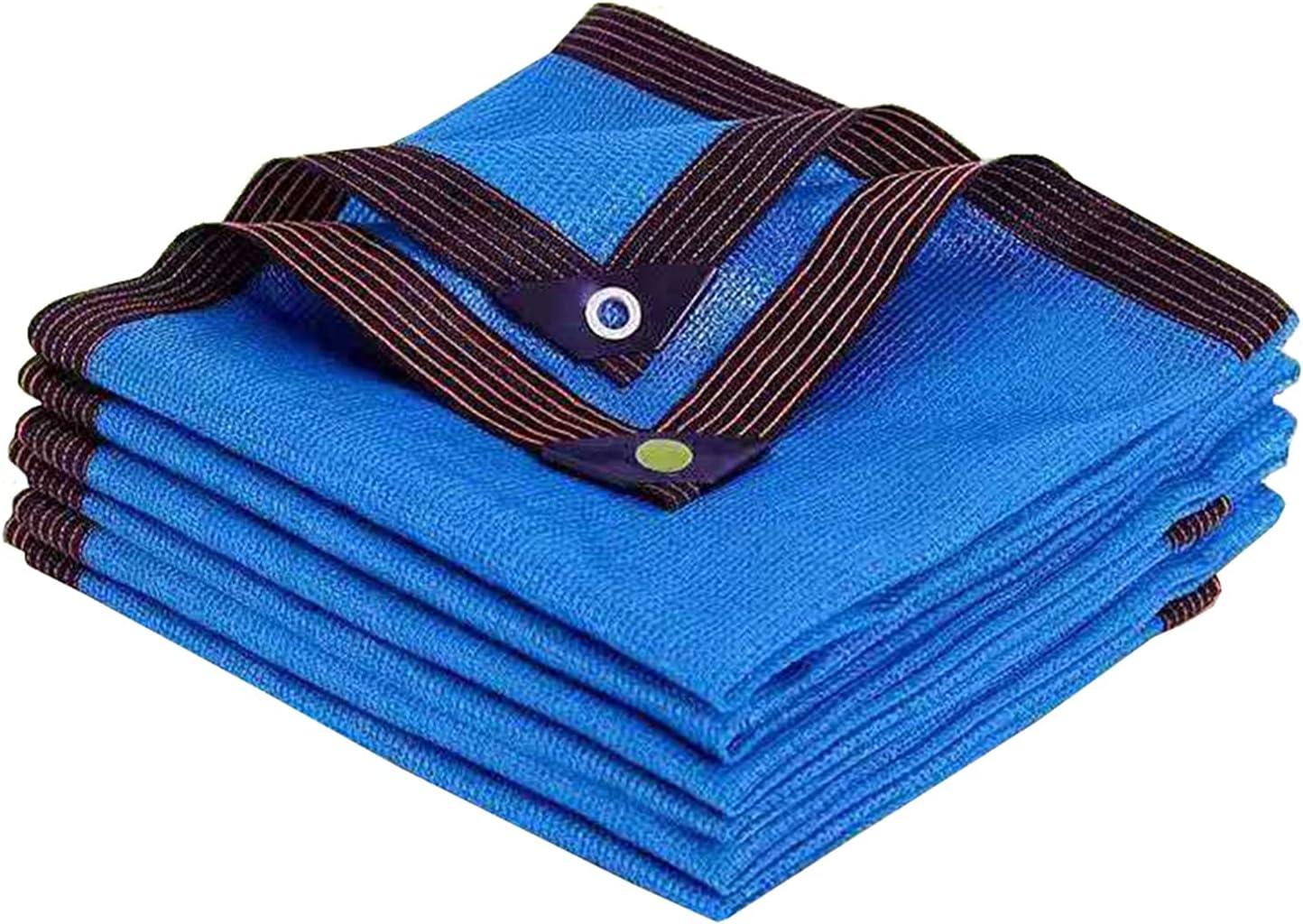 WZHIJUN Blue Shade Cloth Outdoor Sunb Terrace 90% Anti-UV depot Courier shipping free Garden