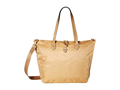 Lipault Paris Plume Avenue Travel Tote Bag (Camel) Bags