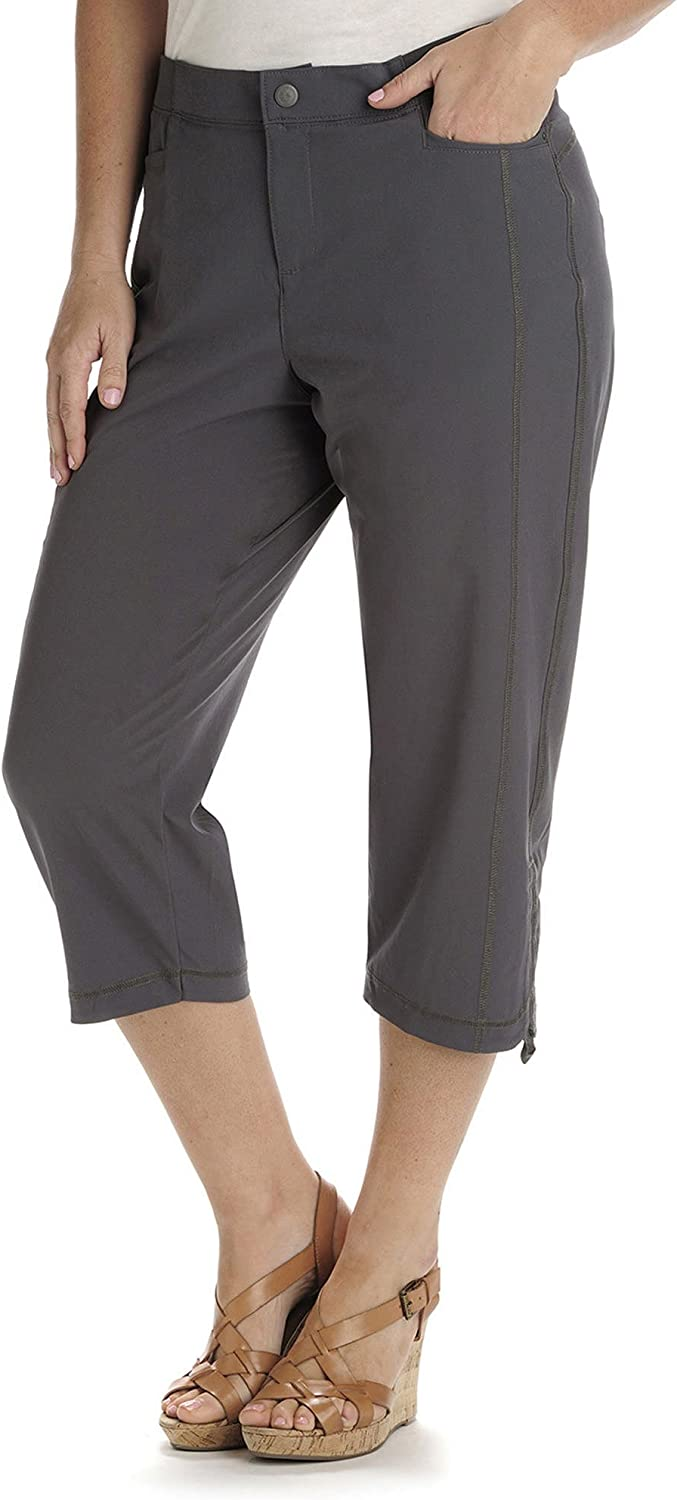 Lee Women's Relaxed-Fit Cargo Capri Pant