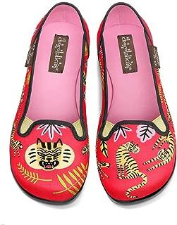 Chocolaticas Women's Slip-On Fashion Sneaker Flats