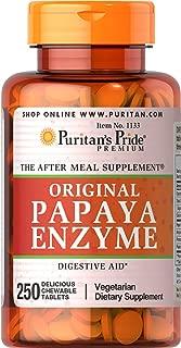 Puritan's Pride Papaya Enzyme-250 Chewables