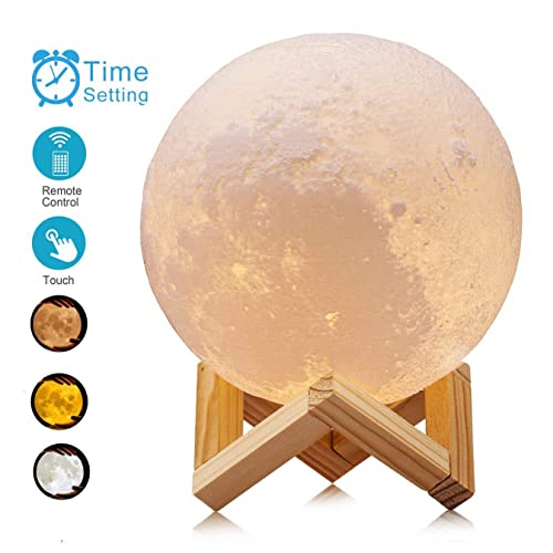 Led Table Lamps Dashing Led Moon Star Lamp Night Light Projector Moon Lamp Colorful Change Touch Home Decor Gift Usb Remote Control Bedroom Lamp New Lights & Lighting