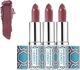Lot 3 x Clinique Pop Lip Colour +Primer Rouge Intense + Base #14 Plum Pop unbox Travel Size 0.13 oz each total 0.39oz