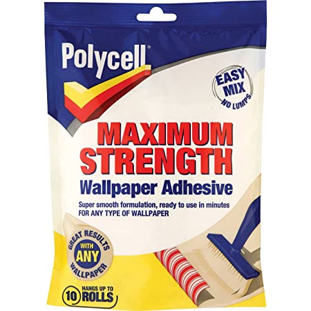 Polycell PLCMSWPA5R Maximum Strength Wallpaper Paste Rolls - 5 Roll