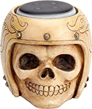 ArtizStudio Echo Dot Stand,Smart Speaker Stand Holder for Echo Dot 3rd Generation,Google Home Mini Google Nest Mini (2nd Gen),Speaker Holder,Skull Statue Crafted,Home, Offfice, Living Room Decorations