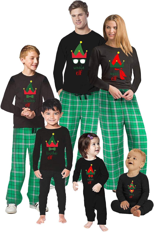 Awkward Styles Christmas Pajamas for Family Xmas Elf Uncle Aunt Matching Christmas Sleepwear Men PJ Set Style 2 M