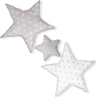 cojin estrella cojines bebe - decoracion peluche estrella