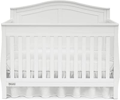 Fisher-Price Harrison 4in1 Convertible Crib, Frost White