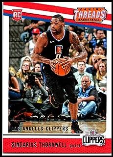 2017-18 Panini Threads #76 Sindarius Thornwell Rookie NM-MT Clippers