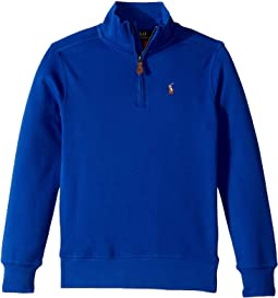 Cotton 1/2 Zip Pullover (Little Kids/Big Kids)
