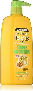 Garnier Fructis Triple Nutrition Conditioner, Dry to Very Dry Hair, 33.8 fl. oz.