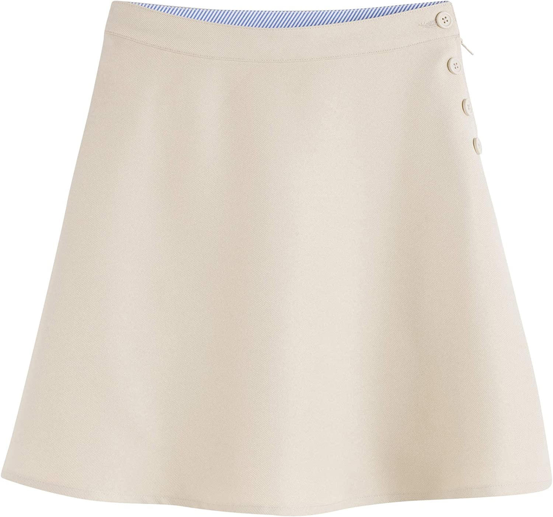 Max 56% OFF Tommy Hilfiger A-Line Side Button Uniform Skort Clo School Kids Selling rankings