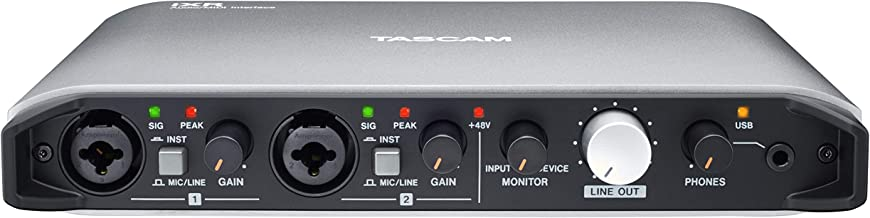 Tascam iXR USB Audio Recording Interface for iPad MacOS And Windows