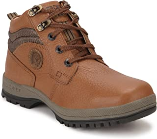 Red Chief Men's Elephant Tan Leather Casual Shoes (RC2501) UK 10