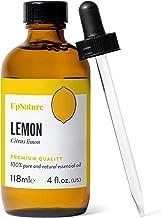 Lemon Essential Oil 4 OZ – Pure Lemon Oil, Therapeutic Grade, Undiluted, Non-GMO - Improve Skin and Hair, Energy Boost, Fo...