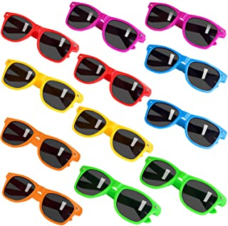 Party Sunglasses for Kids with UV400 Protection Eyewear Neon Sunglasses For Boys,Girls - Great Gift for Party Favors, Birt...