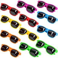 Party Sunglasses for Kids with UV400 Protection Eyewear Neon Sunglasses For Boys,Girls - Great...