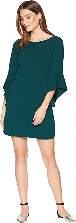 Circle Sleeve Shift Dress
